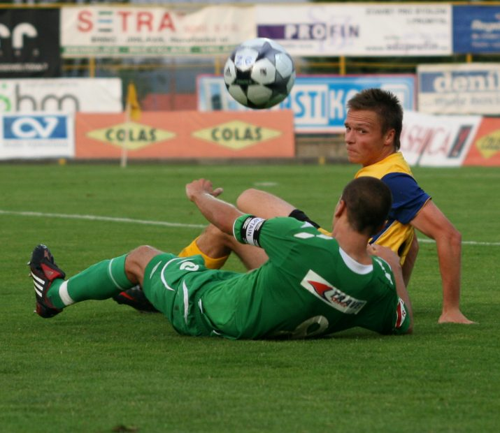 Stanislav Tecl vs Švrček Roman (Jihlava vs Hlučín 28.08.2009 )